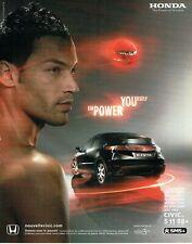 Publicité Advertising 079  2006   nouvelle Honda  Civic