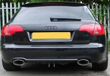 AUDI A3 A4 A6 A8 S3 EXHAUST STAINLESS STEEL LEEDS S4 S6