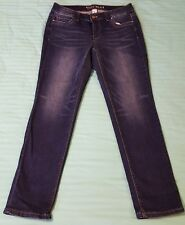 White House Black Market Blue Denim Signature Cropped Jeans Size 2 NWT