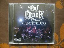 CD DJ QUIK ‎– Greatest Hits - Live At The House Of Blues / Mad Science (2006) US
