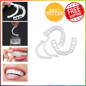 Magic Teeth Brace 2Pcs Temporary Smile Comfort Fit Cosmetic Denture Teeth Hygien