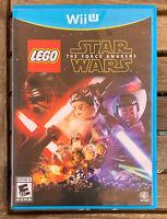LEGO Star Wars: The Force Awakens (Nintendo Wii U, 2016) Complete