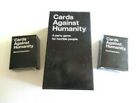 Cards Against Humanity BASE w/ 1st and 2nd Complete Expansion Packs