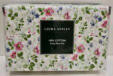 Laura Ashley King Sheet Set - Spring Blossom Pink -T200
