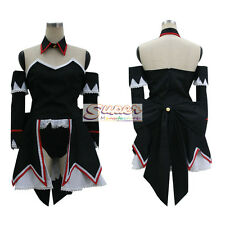 Higurashi When They Cry Higurashi no Naku Koro ni Hanyū Black Cosplay Costume