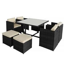 Garten-Tische & Stuhl-Sets aus Rattan mit bis zu 6 Sitzplätzen