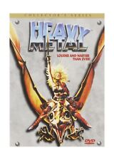 Heavy Metal (Collector's Edition) Animated Science Fantasy Film Comic Based Plot