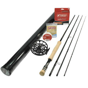 """G Loomis Asquith 1190-4 Global All Water Fly Rod Outfit : 11wt 9'0"""""""