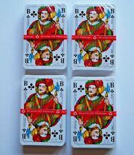 ASS Altenburger Skat Karten 4 X 32 Blatt Spielkarten Rot / Blau
