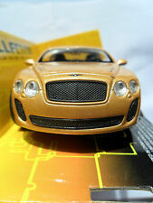 BENTLEY CONTINENTAL SUPERSPORTS DIECAST WELLY 1/38 BOXED OPENING DRS PULL BACK +