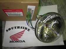 GENUINE HONDA HEADLIGHT UNIT  6V 35/25W 33120-243-672
