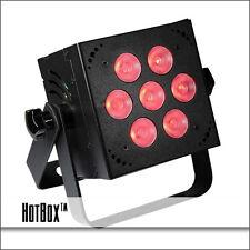 Blizzard Lighting HotBox RGBW LED PAR Can Color Mixing via 7x10W Quad RGBW LEDs