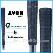 Avon Tacki-Mac Arthritic Serrated Jumbo Golf Grips - Black  x 1