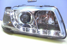 Scheinwerfer Audi A4 B5 LED Tagfahrlicht Optik Chrom Bj.1995-1998 europaw.zugel.