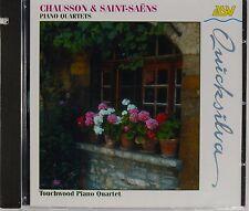 Chausson / Saint Saens - Piano Quartets, Touchwood Quartet, New CD RARE & OOP