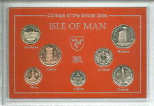 2004 The Buildings & Sites to See in Isle of Man Coin BU Collector Gift Set 2004