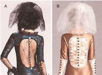Simplicity 1772 PATTERN Sexy backless Bride dress Veil 4-20 Wedding Steampunk