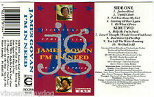 James Govan - I'm In Need (10 track cassette album Charly R & B)