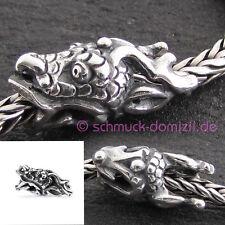 NEU - TROLLBEADS Silberbead Heiliger Drache - TAGBE-30127 Spiritual Dragon