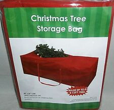 "CHRISTMAS TREE STORAGE BAG 60"" X 25"" X 20"" Stores up to a 9 1/2' Tree"