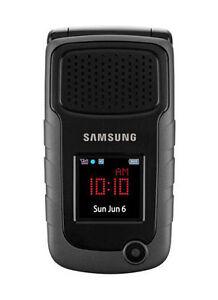 Samsung Rugby II SGH-A847M - Black UNLOCKED Cellular Phone