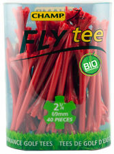 "40 CHAMP ZARMA FLY TEES.....2.75"".....RED"