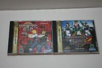 Sega Saturn VIrtua Cop 1 & 2 BOTH GAMES For Japanese With box and instructions