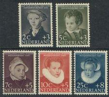 NVPH 683-687 Kind 1956 postfris (MNH)