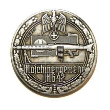 EXONUMIA MEDAL 1939-1945 / GERMANY / THIRD REICH / WW 2 / SILVERED MEMORY TOKEN