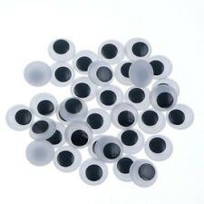 4+6+8+10 mm Doux vacille yeux-Vendeur Britannique Pack de 40 Artisanat Jouet D