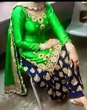 Bollywood Patiala Punjabi Salwar Suit Indian Designer Ethnic Wear Semi Stitched