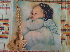 Terra Traditions Baby Photo Album 5x7/100 Photos Baby Angel with Golden Tassel