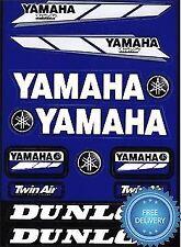 4mx Sticker Decal Yamaha logotipo Twin Air Dunlop encaja Yfm 350s Raptor 04 -