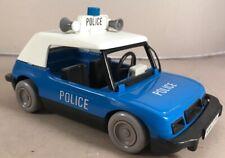 Rare Playmobil Vintage Blue Police Car Vehicle 70s 1976 Geobra