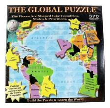 The Global Puzzle 570 Piece 2012 By A Broader View New Factory Sealed!