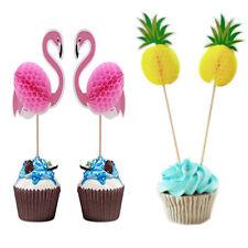 Mode Ananas Topper Décor de fête flamant Cupcake Toppers bricolage gâteaux Choix