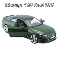 Bburago 1:24 Scale Audi RS5 Diecast Model Car Collection Vehicles Toy New In Box