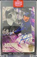 Freddie Freeman autographed signed on Card 1/1 Atlanta Braves Topps Archives