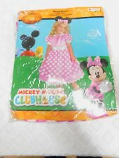 Disney Minnie Mouse Club House Size 4 - 6x Children's Halloween Costume
