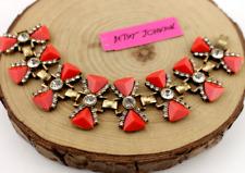 Fashion Enamel Jewelry Betsey Johnson Rhinestone petal crystal Retro Bracelets