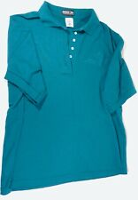 Disney Cast Member Company D Teal Cotton Tinkerbell Polo Rare New