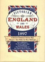 Victorian Maps England and Wales, 1897... by J G Bartholomew Mixed media product