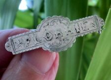 Vintage Sterling Silver Name Brooch h/m 1923 Chester  - FLORRIE or Florence