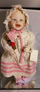 """Sarah"" Yolanda Bello Picture Perfect Babies porcelain doll"