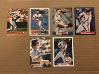 JIM THOME 6 CARD LOT PINNACLE (2) STADIUM CLUB TOPPS DONRUSS CLEVELAND INDIANS