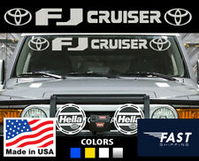 fits toyota Fj cruiser trd accessories parts intake windshield decal sticker top