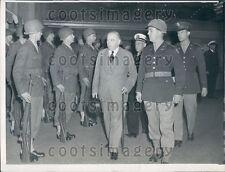 1945 Canada Prime Minister William MacKenzie King in San Francisco Press Photo