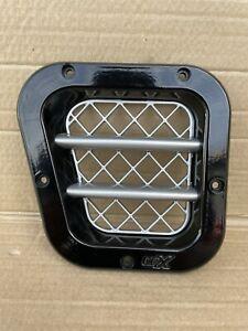 KBX Defender TD 200 TDi Intake Grille Gloss Black Silver LH Left Hand