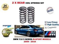 FOR BMW M SPORT F10 520 525 530 535 520D 525D 530D 535D 2X REAR COIL SPRINGS SET