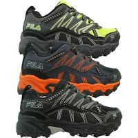Kids Boys Fila AT PEAKE 16 Trail Running Outdoor Athletic Playground Shoes PS GS